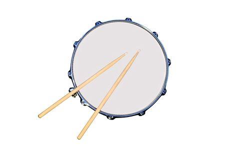 Aislado tambor repicador  Foto de archivo - 848155