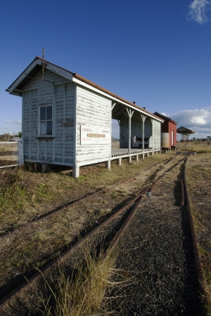 disused: Disused Railway at Queensland border