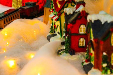 ville: Christmas Ville, train