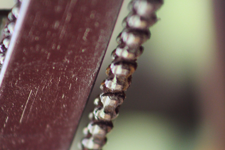 iron oxide: Chain
