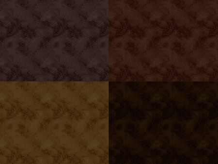 Shades of brown leather  suede material