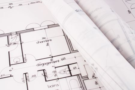 bluelines: Plans of a  designed by an architect