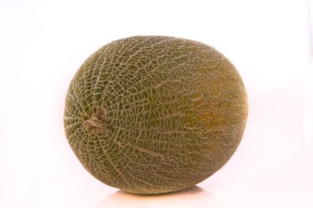 Melon typical fruit of the Mediterranean summer Stock Photo