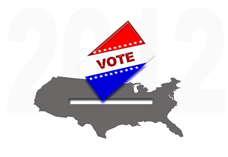 Vote in United Stated 2012