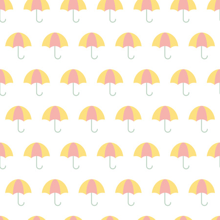 contrasting: Seamless vector umbrella pattern