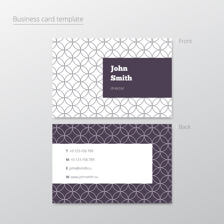abstract background vector: Business card abstract background. Vector illustration. Illustration