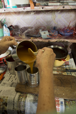 kopitiam: traditional kaya jam made from eggs, sugar and coconut milk