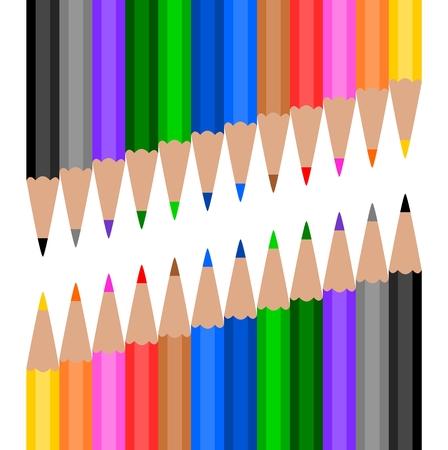 Lápiz de madera colorido