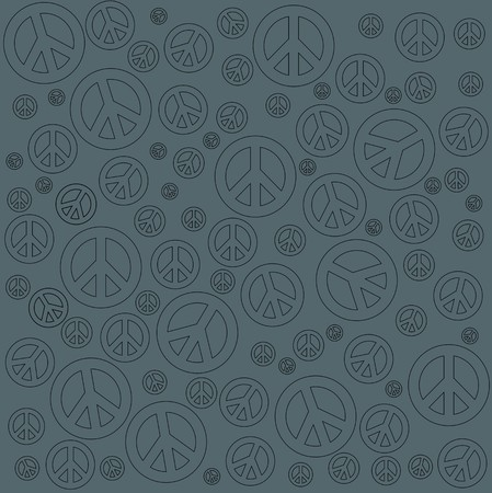 chinese american ethnicity: Peace Sign Background