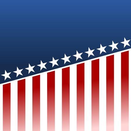allegory painting: USA Flag - Illustration Illustration