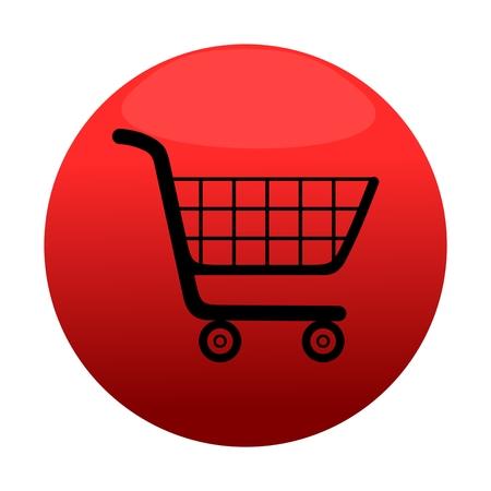 buy button: Shopping cart icon