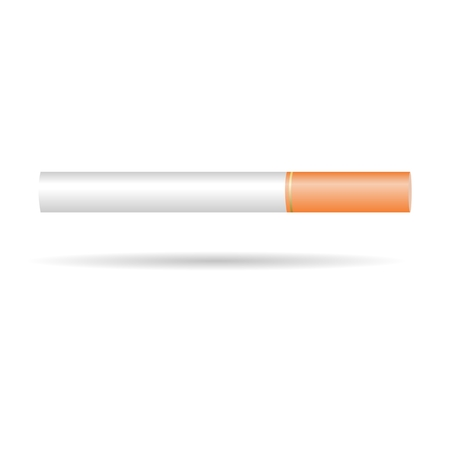 tobacco product: Cigarette - Illustration Illustration