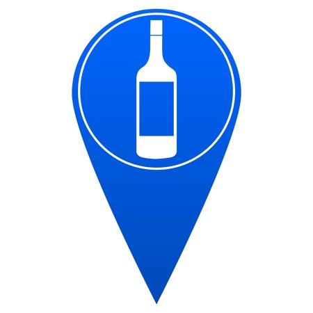 reference point: Bar Map Pointer - Illustration