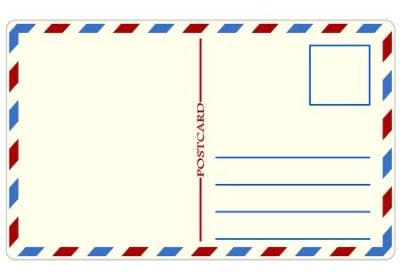 postcard: Travel Postcard - illustration