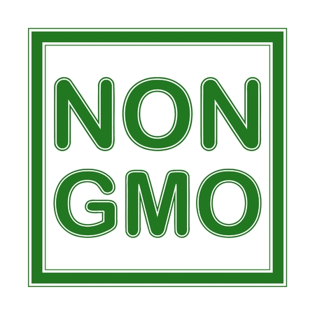 non: Non GMO - illustration Illustration