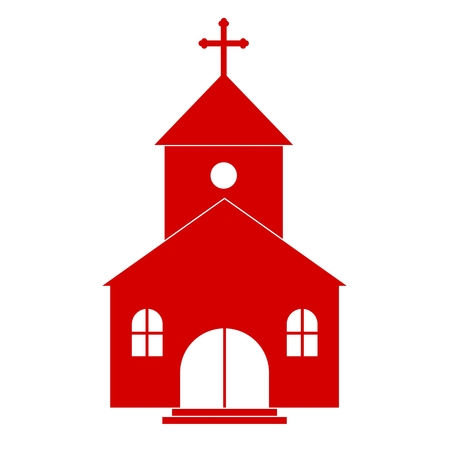 building color: Red Church Icon