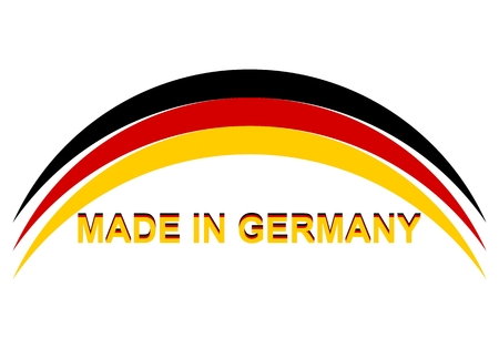 made in germany: Made in Germany Abstract - Illustration