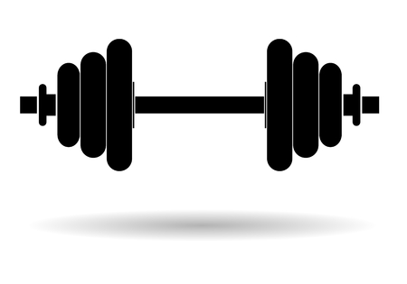 Gym Weights - illustration