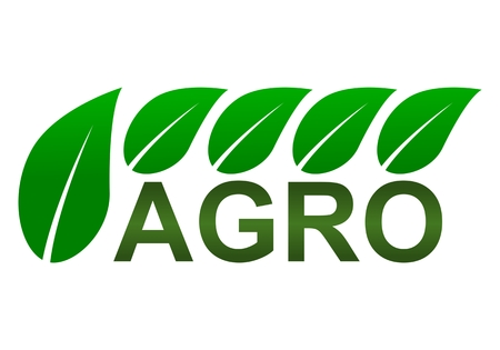 Agro Sign Symbol - illustration Ilustração Vetorial