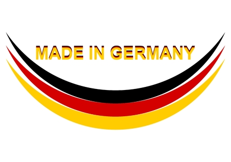 manufactured: Made in Germany Abstract - Illustration