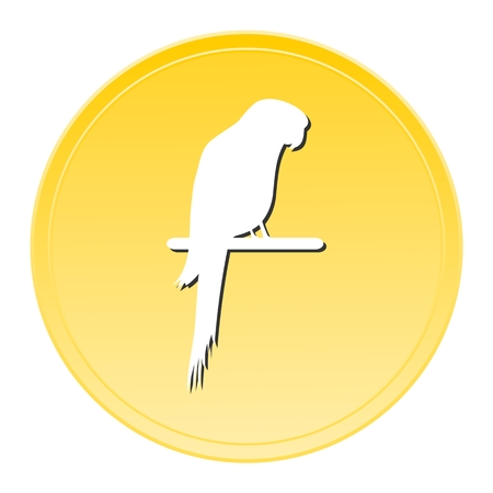 lovable: Parrot Gold Icon