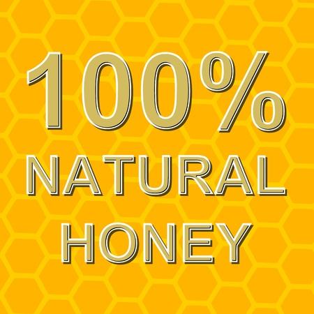 wax sell: 100 Natural Honey