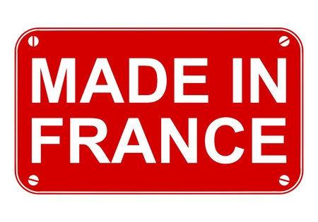 made in france: Made in France sign