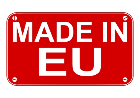 eu: Made in EU sign