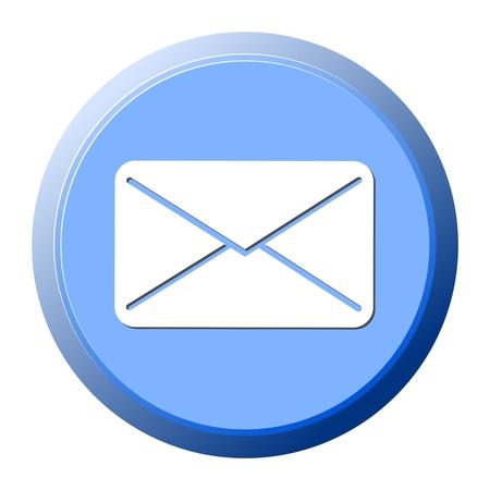 e mail: E mail icon - illustration