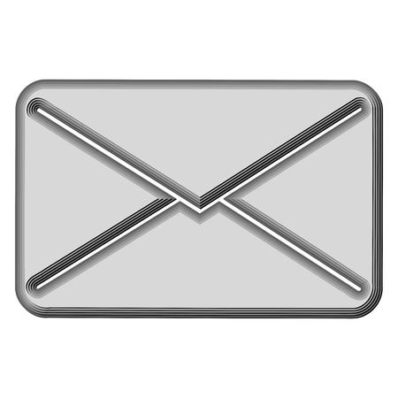 e mail: E mail icon 3d