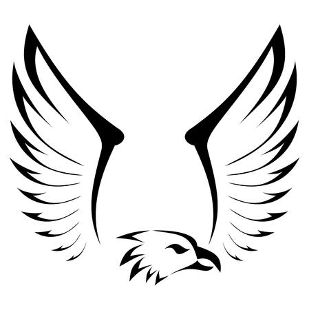 Eagle Abstract - illustration