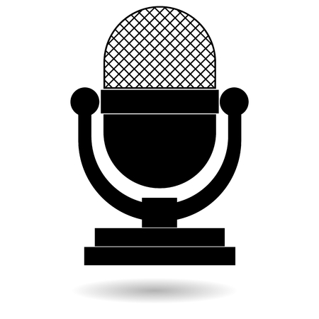 retro: Retro microphone