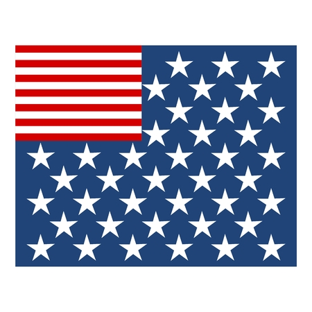 declaration of independence: American flag Different