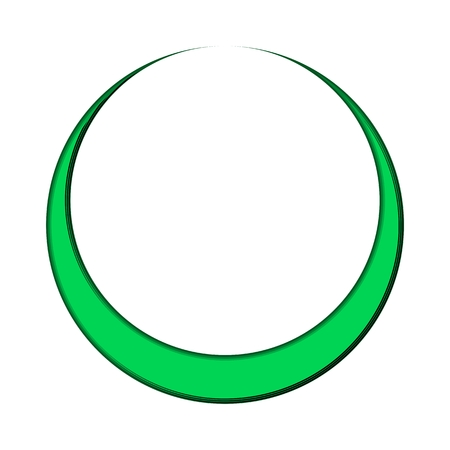 infinite shape: Business Abstract Circle icon