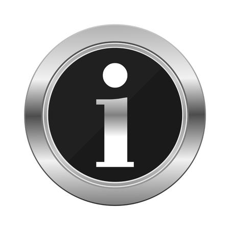 silver: Information Silver Button