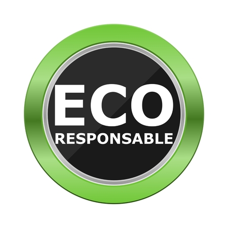Eco Responsable Green Button