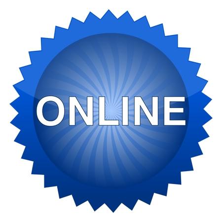 online: Online Button