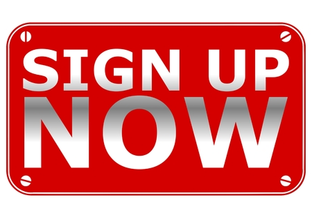 Sign Up Now Plate