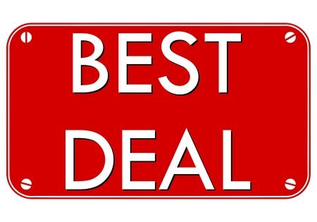 pledge: Best Deal Plate