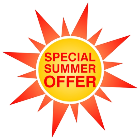 inexpensive: Special Summer Offer Sun