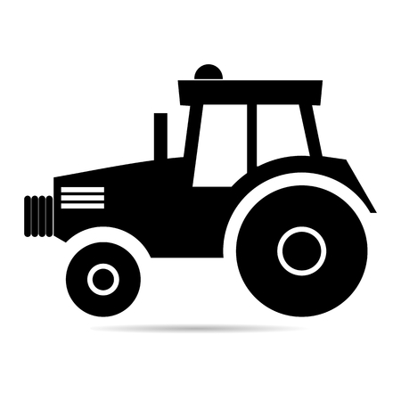 Tractor sign icon