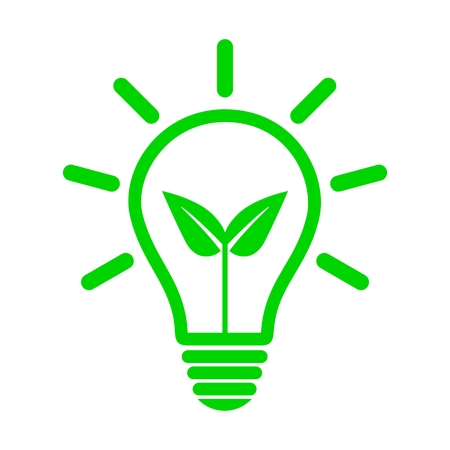 green bulb: Ecology green bulb light