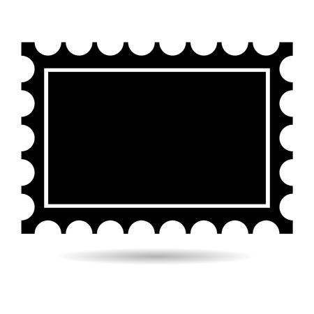 indentation: Postage stamp icon