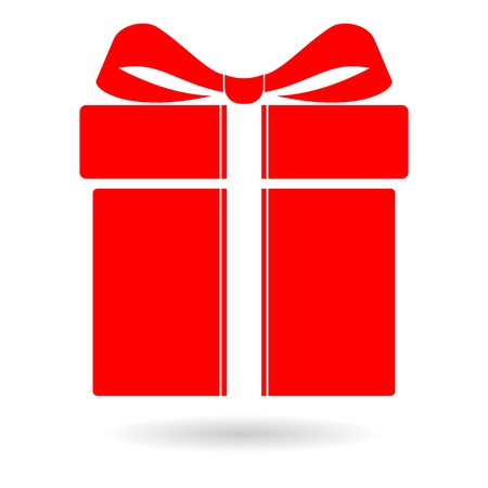 suprise: Red Gift Icon