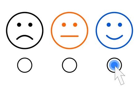 símbolos de reacción