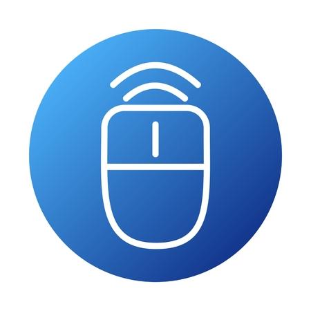 peripherals: Wireless Mouse Icon
