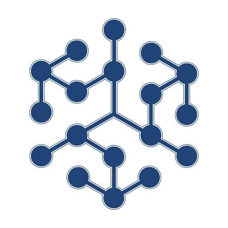 Logotipo de la química Foto de archivo - 52100787