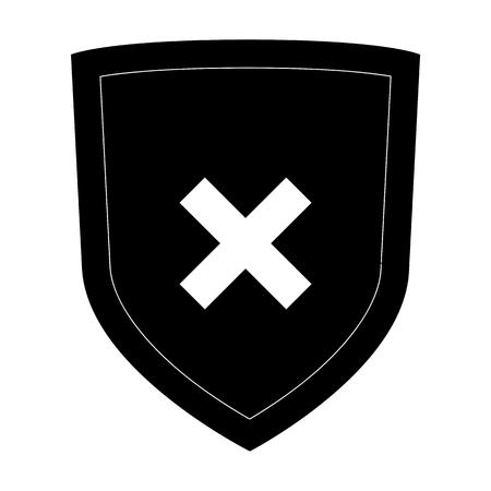 honour guard: Shield icon