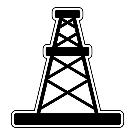 oilwell: Oil rig icon