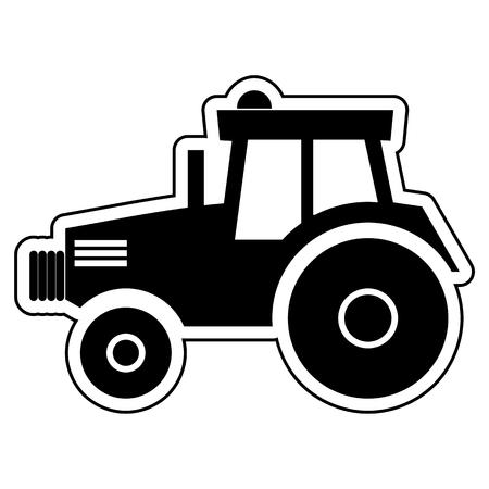 horticulturist: Tractor Illustration